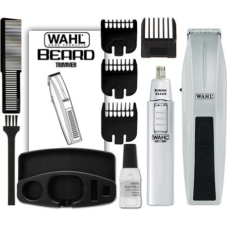 wahl mustache beard battery operated trimmer model 5537 420. Black Bedroom Furniture Sets. Home Design Ideas