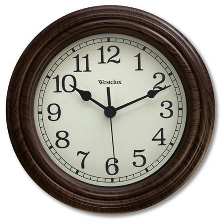 Westclox Glass Clock - 33883P - Westclox 10
