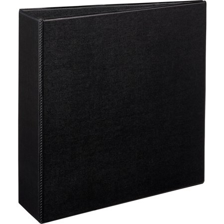 avery durable binder with slant rings 11 x 8 1 2 3 black