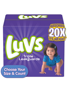 Luvs Triple Leakguards Extra Absorbent Diapers Size 4 88 Ct