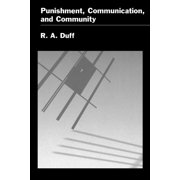 Punishment, Communication, and Community (Paperback)