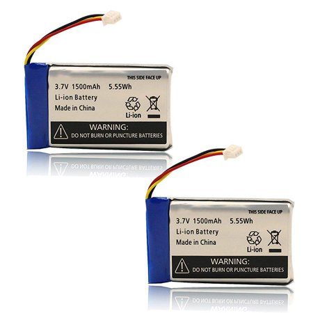 4956825a85fc 2-pack rechargeable lithium ion replacement battery for infant optics baby  monitor dxr-8 - Walmart.com