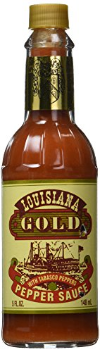 Louisiana Gold Red Pepper Sauce with Tabasco Peppers 5 oz by Bruce's Foods