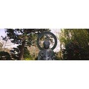 Statue of Buddha in a park, Japanese Tea Garden, Golden Gate Park, San Francisco, California, USA Poster Print - Item # VARPPI106845