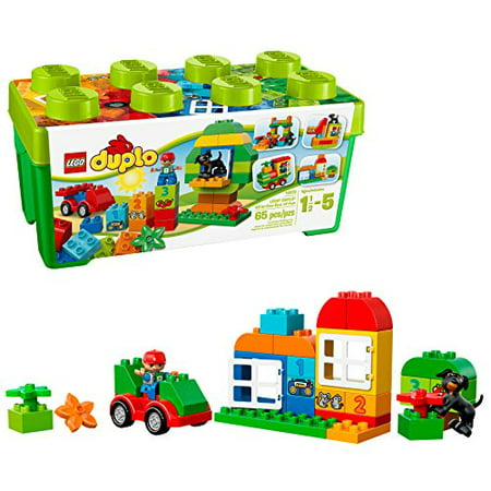 LEGO DUPLO All-in-One-Box-of-Fun 10572 Creative Play and Educational Toy Lego Duplo Basic Bricks