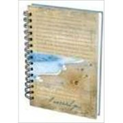 Christian Art Gifts 362533 Journal Wirebound Footprints I Carried You Large