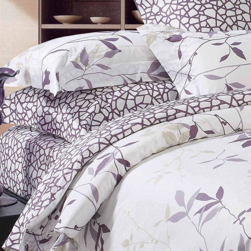 North Home Bedding 220 Thread Count Iris SS Qn Size Sheet Set