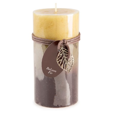 Dynamic Collections Layered Candles - Balsam Fir - 6-inch - Balsam Home Fragrance