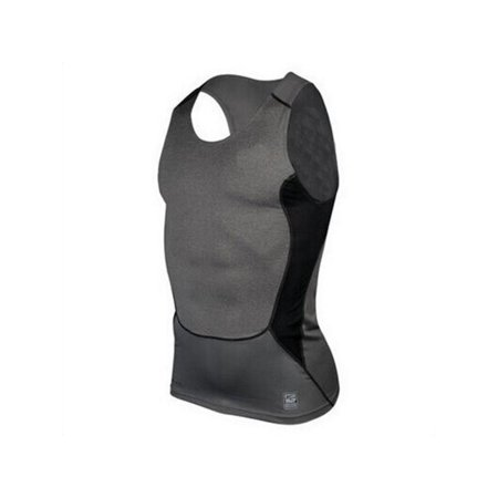 MarinaVida Men Fast-Dry Compression Base Layer Tank Top Sleeveless Gym Running Sports T-Shirts Vest