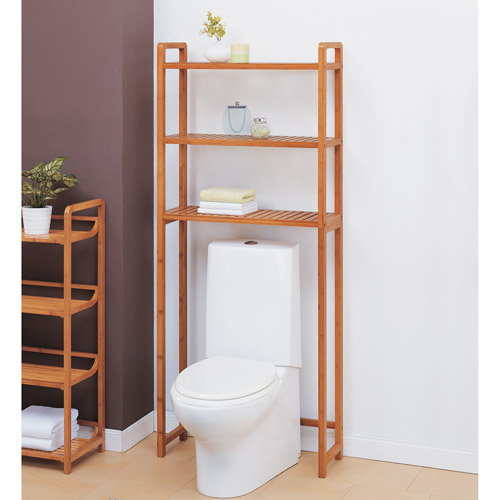 Neu Home Lohas Collection Spacesaver, Carbonized Bamboo