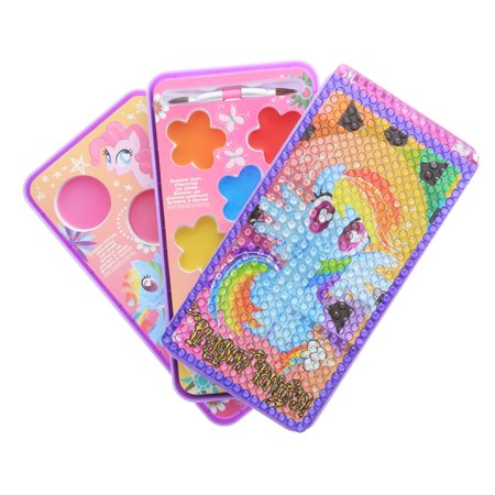 My Little Pony Girls Make Up Cosmetic Set Lip Gloss Smart Phone Style Case - 50s Style Makeup