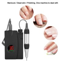 FAGINEY 3 Type Portable Electric Nail Drill Machine Rechargeable Cordless Nail Polisher Manicure Set , Rechargeable Nail Drill Machine,Nail Drill Machine