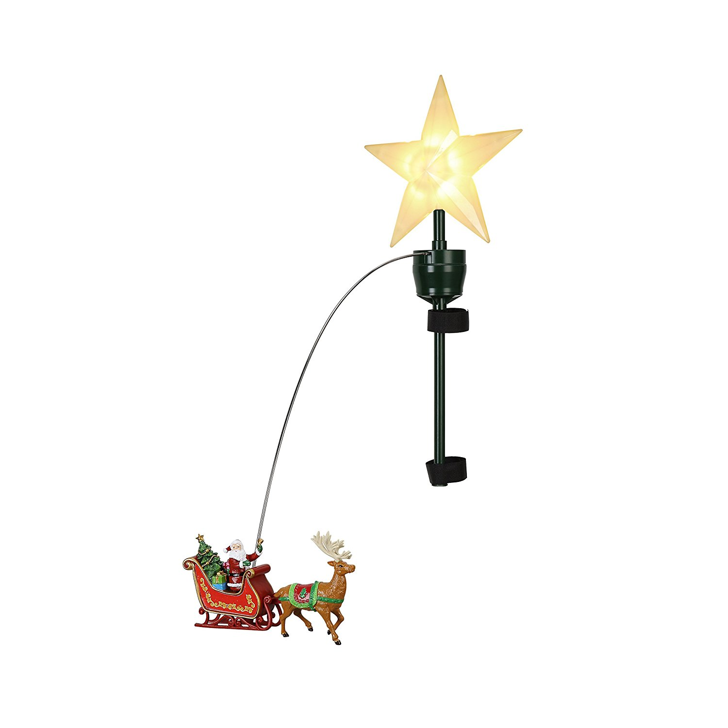 "MR. CHRISTMAS 21"" Animated Lit Tree Topper"