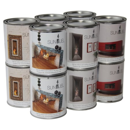 Anywhere Fireplace SunJel Gel Fuel Cans - Set of