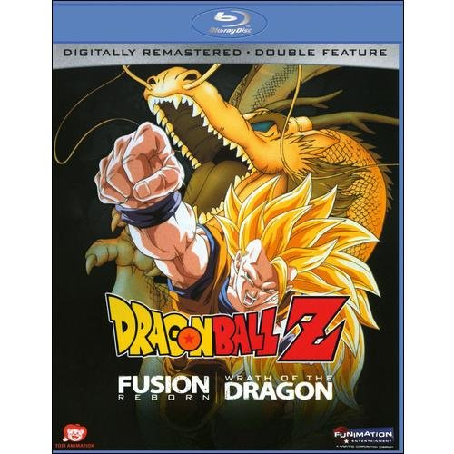 DragonBall Z: Fusion Reborn / Wrath Of Dragon (Blu-ray) (Japanese)