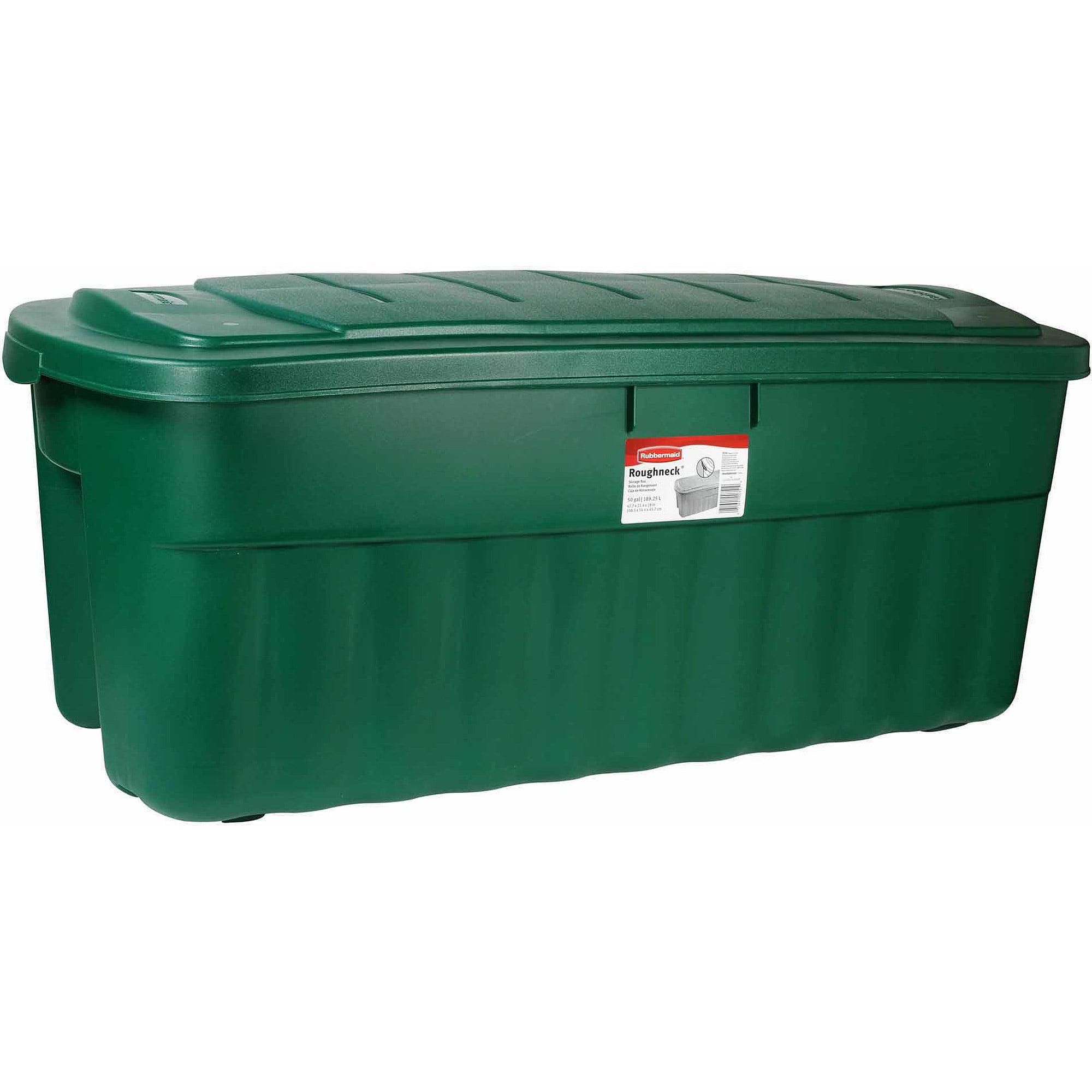 Rubbermaid Roughneck 50-Gallon Jumbo Storage Tote ...