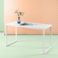 Zinus Jennifer Minimalist Desk, Vanilla