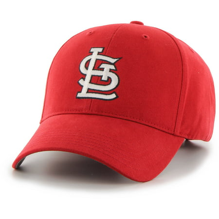 Fan Favorite - MLB Basic Cap, St. Louis Cardinals (Louis Mens Hat)