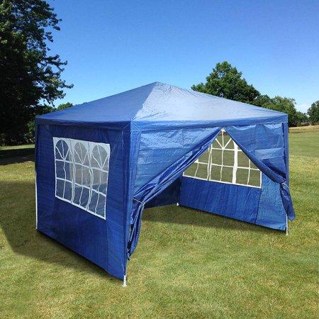 Yescom 10x10'Gazebo Canopy Wedding Party Tent w/4 Removable Side Walls