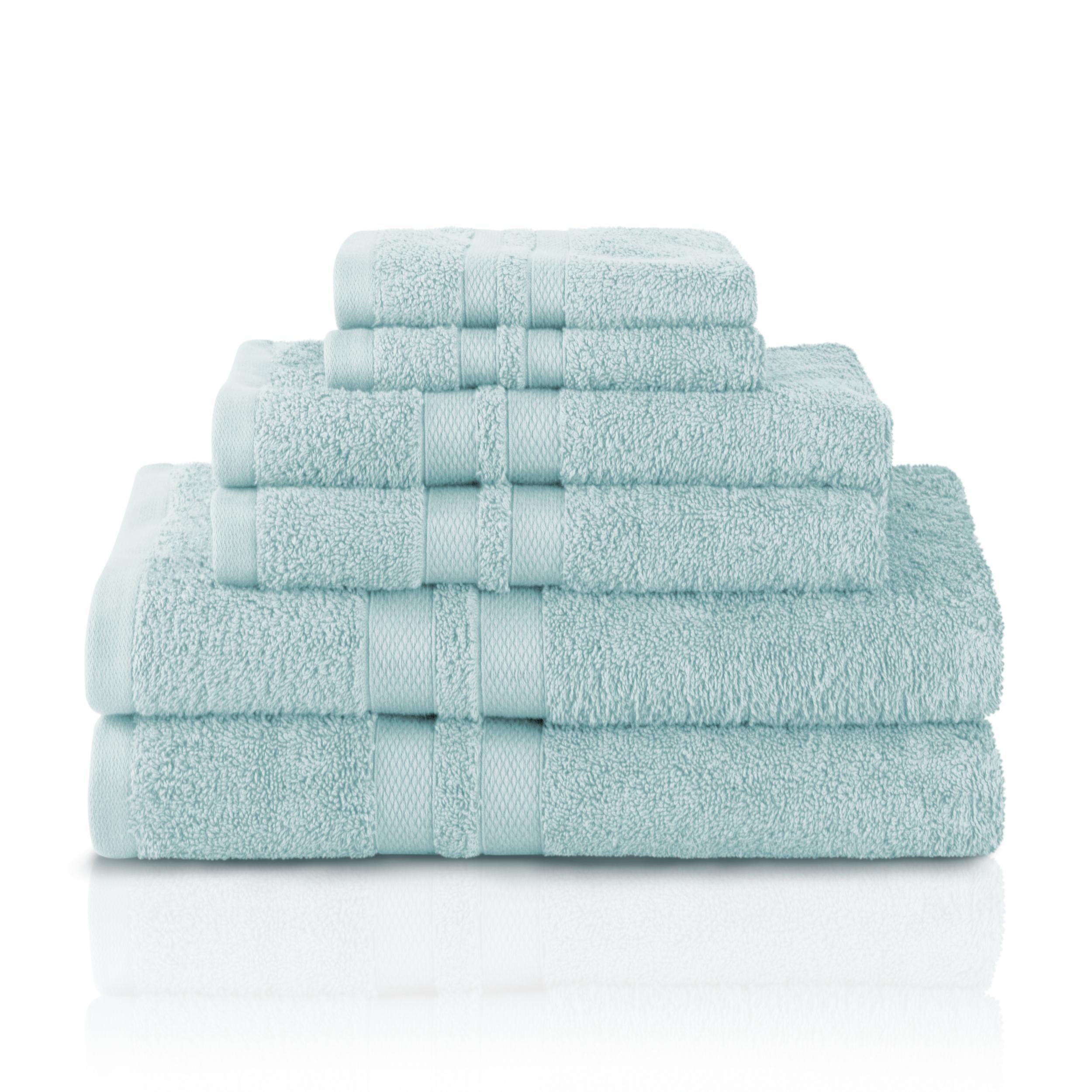 Impressions Ultra Soft 100-Percent Cotton 6-Piece Towel Set