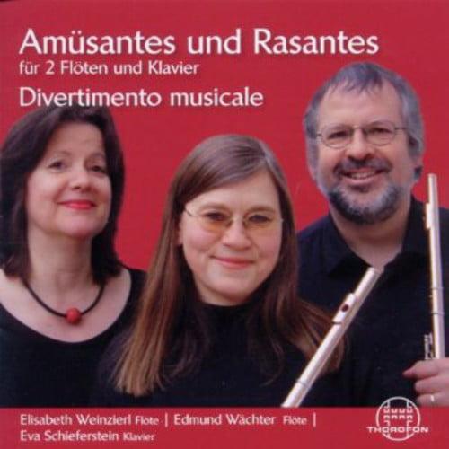 Amusantes & Rasantes for 2 Flute &Piano by