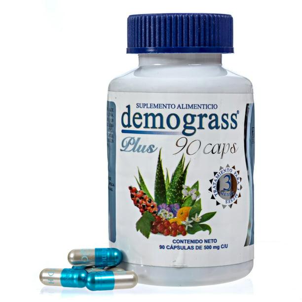 Demograss PLUS 3 Month Supply Weight Loss Supplement Perdida de Peso y Dieta 90 count