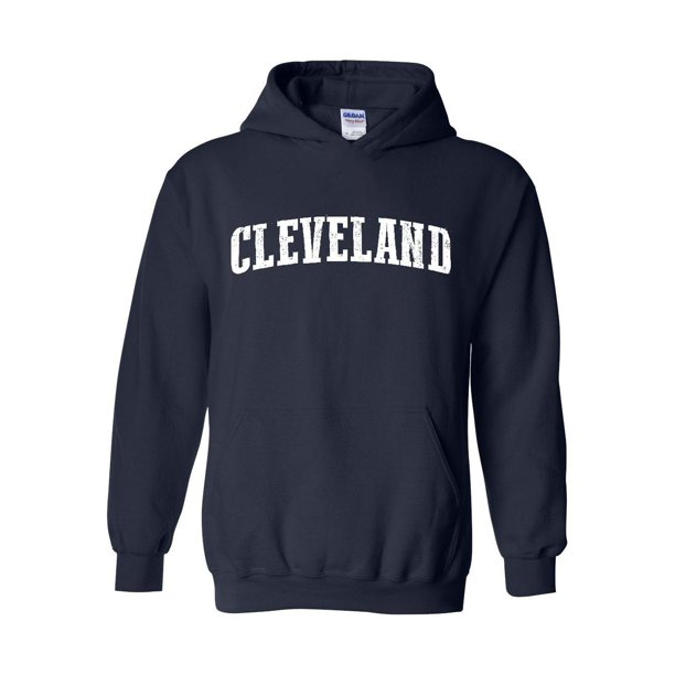 Cleveland Ohio State Flag Unisex Hoodie Hooded Sweatshirt