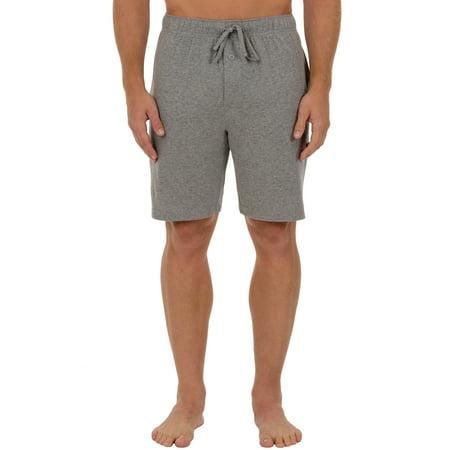 Men's Solid Knit Sleep Jam Shorts