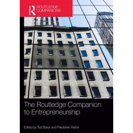 Routledge Companion to Entrepreneurship