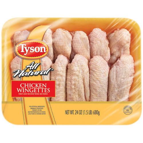 Tyson Fresh Chicken Wingettes, 1.5 lbs.