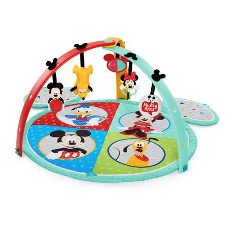Disney Baby Mickey Mouse Easy Store Activity Gym and Play Mat (Disney Mickey Mouse Baby)