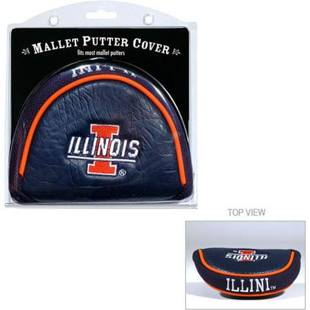 Illinois Golf Gear (Team Golf NCAA Illinois Golf Mallet Putter)