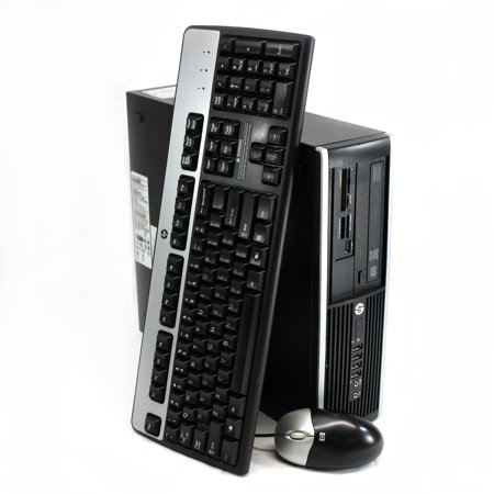 Refurbished HP 8300 Elite Small Form Factor Desktop Computer, Intel Core i5-3470 3.2GHz Quad-Core, 8GB RAM, 1TB SATA, WIFI, Windows 10 Pro 64-Bit, USB 3.0, Display Port (Monitor Not