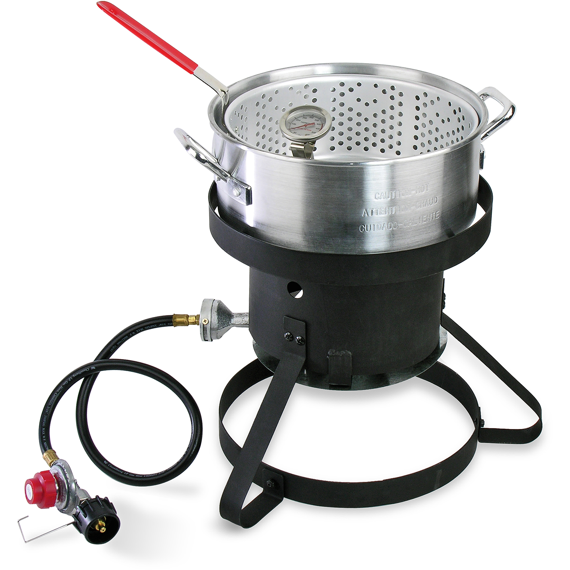 Cajun Injector 10 Quart Gas Fish Fryer Walmart Com