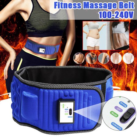 Slimming Belt Electric Vibrating Slimming Belt Weight Lose Magnet Belt Massage Waist Slimming Exercise Buttocks/arms/Legs/Thighs/Belly Fat Burning