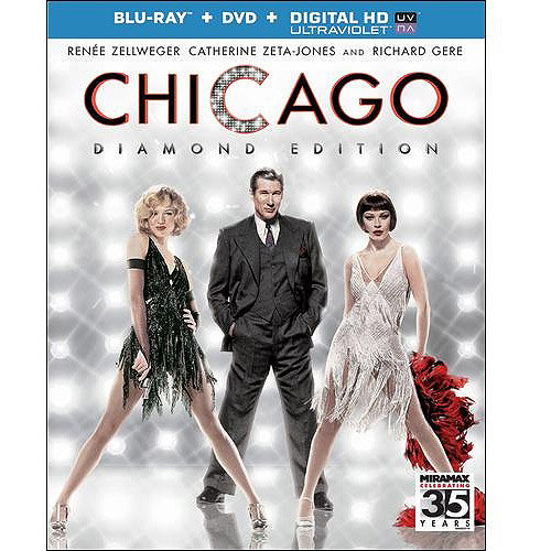 Chicago (Blu-ray + DVD + Digital HD) (With INSTAWATCH) (Widescreen)