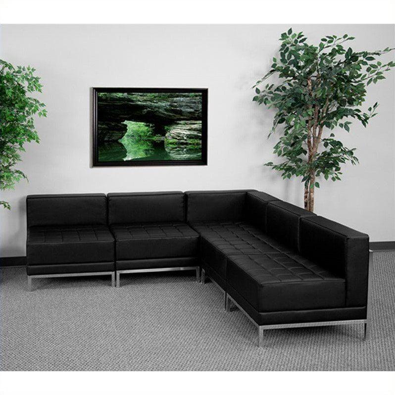 Flash Furniture HERCULES Imagination Series 5 Piece Sectional Sofa Set
