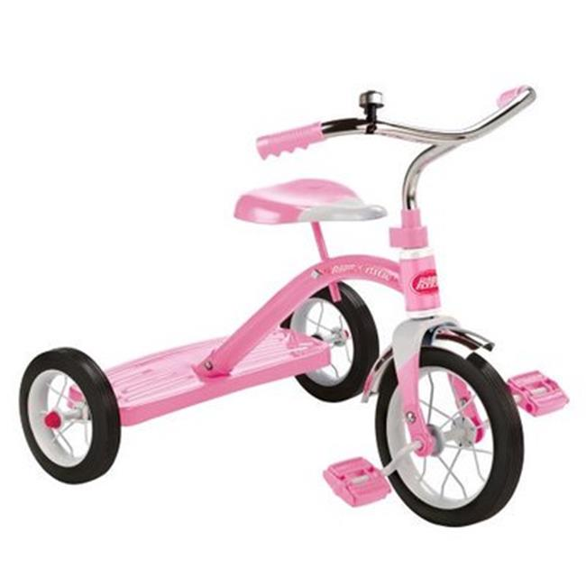 Classic 10 in. Kids Tricycle Trike - Pink