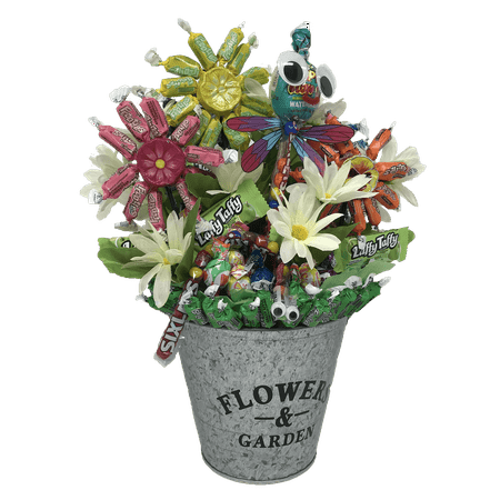 Image of Flavorful and Bright Frooties Flower Garden, with Googly-Eyed Crawlers sure to brighten somebody's day!