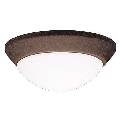"Kichler 8880 Ceiling Space Single Light 10"" Wide Flush Mount Ceiling Fixture"