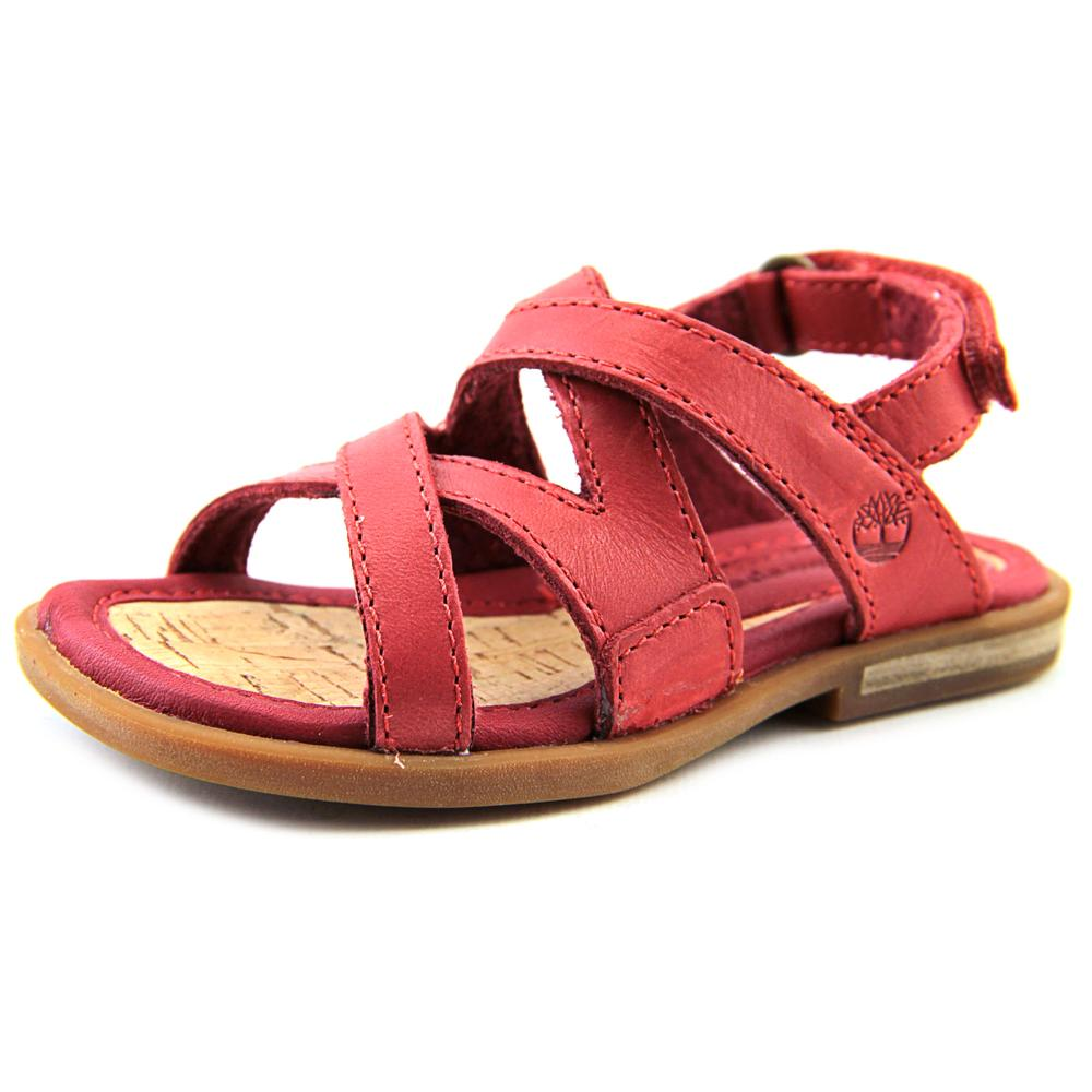 Timberland Star Island    Open-Toe Leather  Slingback Sandal