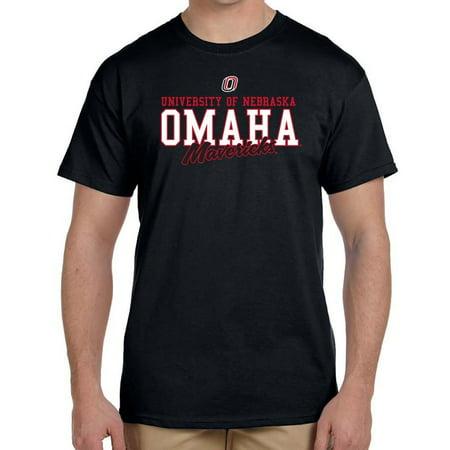 J2 Sport Nebraska Omaha Mavericks NCAA Campus Script Unisex T-shirt - Jobs In Omaha Nebraska