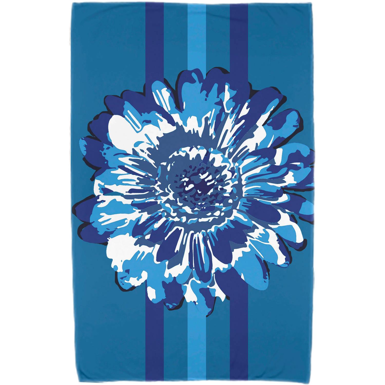 "Simply Daisy 30"" x 60"" Flower Child 2 Floral Print Beach Towel"