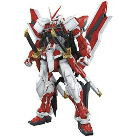 Bandai Hobby MG Gundam Kai Model Kit (1/100 Scale), Astray Red