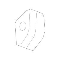 Genuine OE GM Muffler & Pipe Insulator 20959239