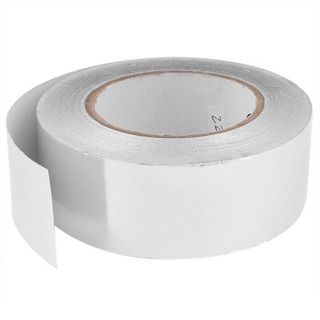 45mm x 50m Roll Aluminium Foil Heating Duct Adhesive Sealing Tape