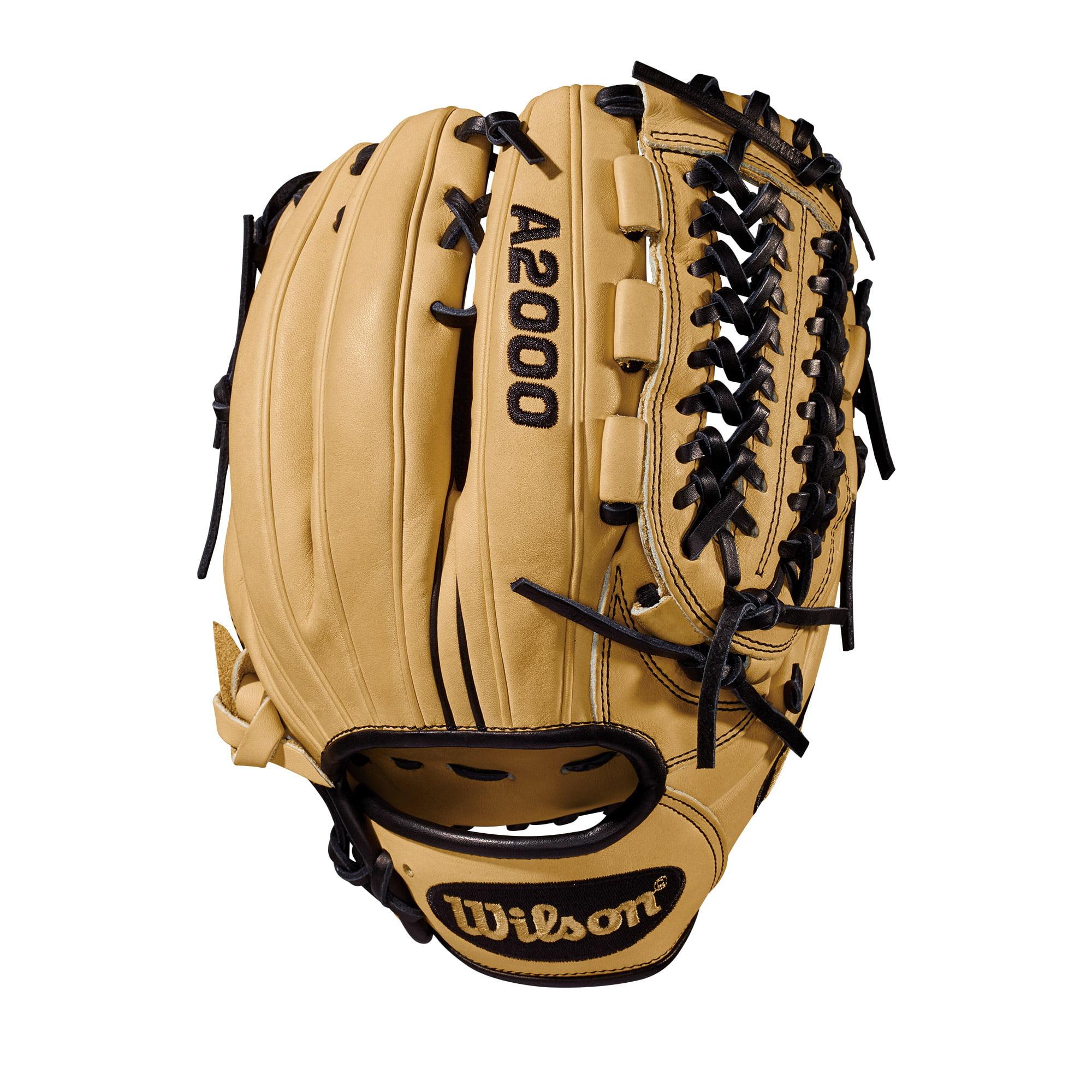 "Wilson 11.75"" A2000 D33 Pitcher Right-Hand Throw Baseball Glove - Cream - Right Hand Throw"