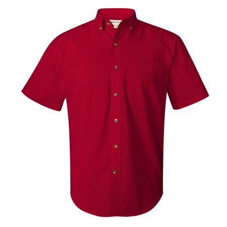0281 Short Sleeve Stain-Resistant Twill Shirt