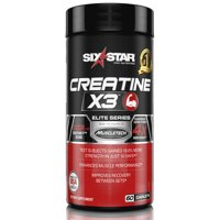 Six Star Pro Nutrition Elite Series Creatine x3 Capsules, 60 Ct