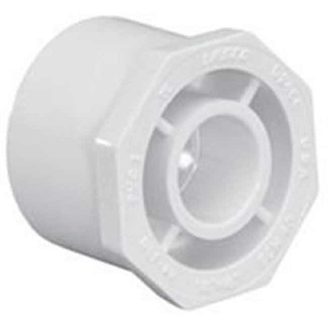 Socket x Socket x Socket LASCO PVC Reducer Tee Pipe Fitting 3 x 3 x 1 Pipe Size